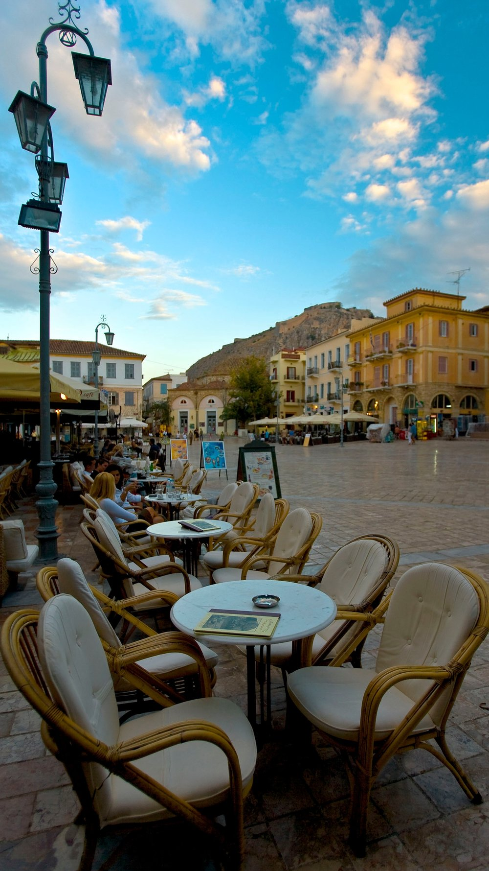 cafes in Nafplio Greence