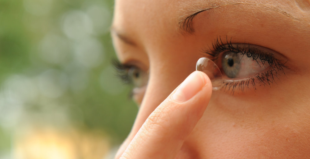 Kontaktlinstillpassning