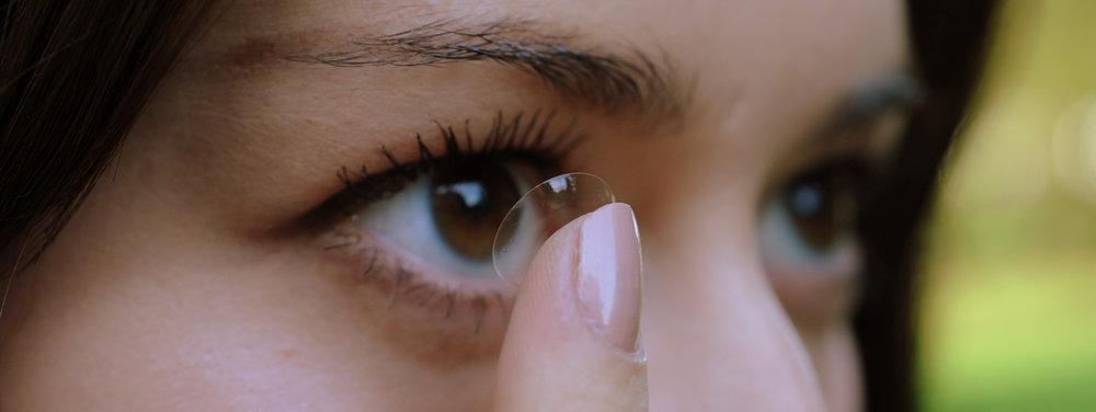 Alla sorters kontaktlinser