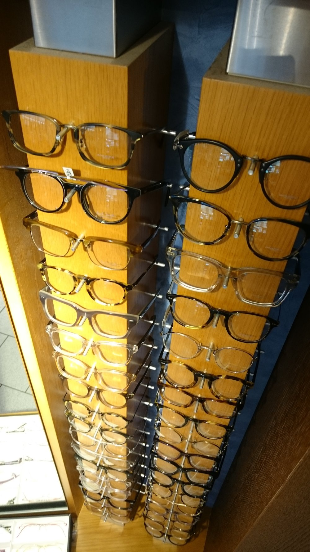 Oliver Peoples and Paul Smith