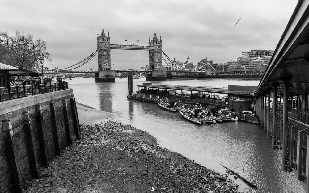 A slightly different perspective of Tower Bridge