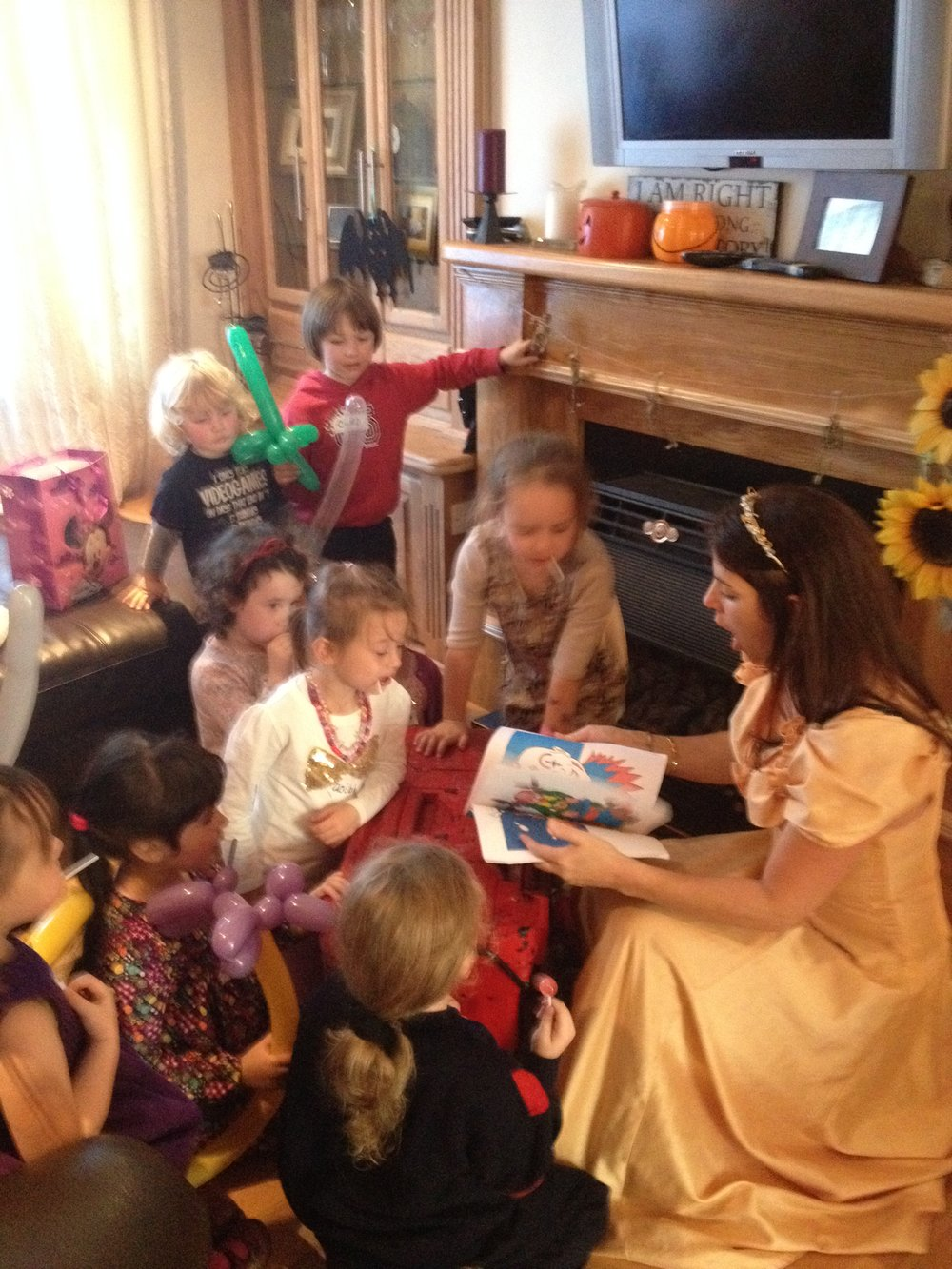princess party for girls