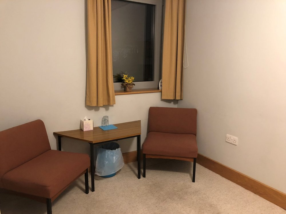 william penn - LocationThe William Penn Room is on the third floorSet UpThe room is set up as a counselling roomCost£10.00 per hour