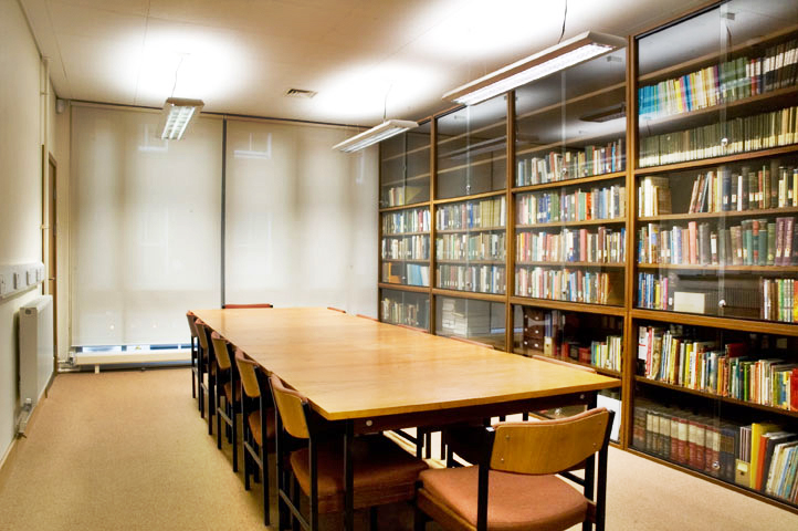 library - LocationThe Library is on the first floorSet UpThe room can seat up to 16 people in boardroom styleCost£15.00 per hour (minimum 2 hours)