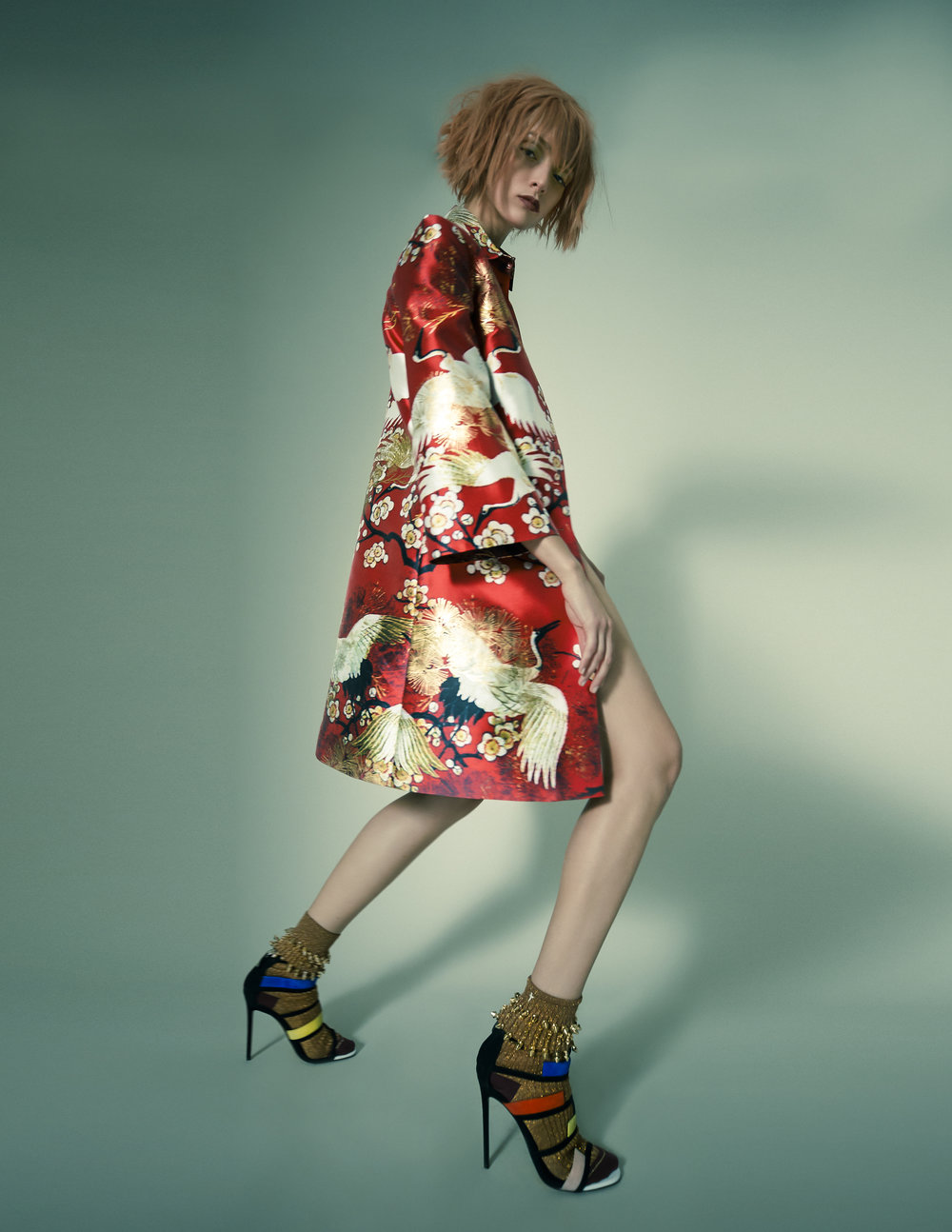 Coat – Maison Marquise Slip – Twinset Shirt - LeiMeSocks – Benedict Shoes – Greymer
