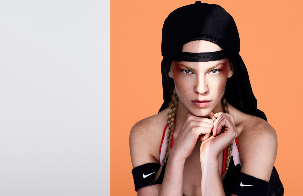 Katie Beauty Hat, Choker, Armbands - @Nike.com Dress by Givenchy @ Neiman Marcus, $7,590
