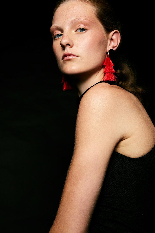 Top: Zara  Earrings: SIX