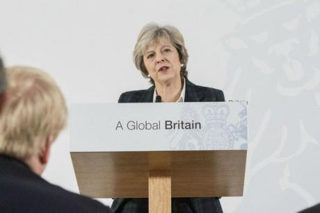 Theresa May has spoken extensively about Britain as a strong, fair trading nation with a global outlook