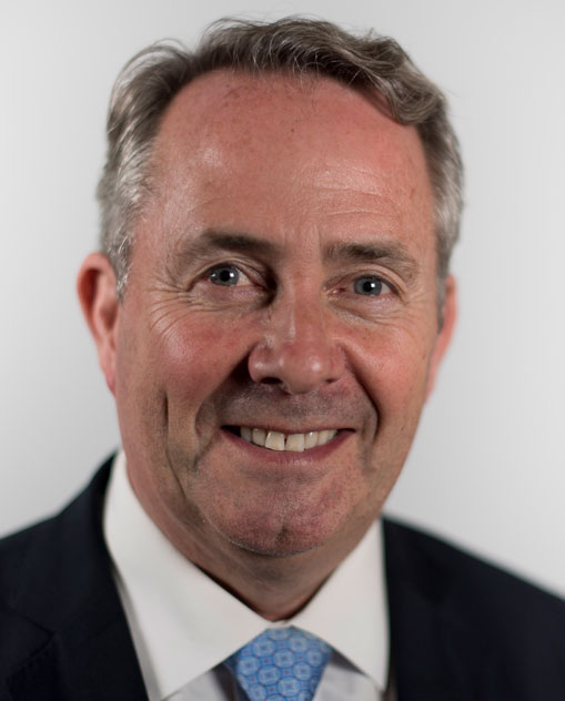 The UK's International Trade Secretary, Liam Fox, has expressed strong support for FTAs