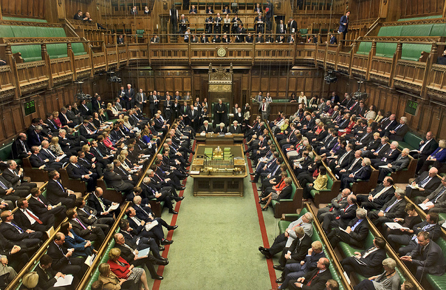 House of Commons © Parliamentary Copywrite