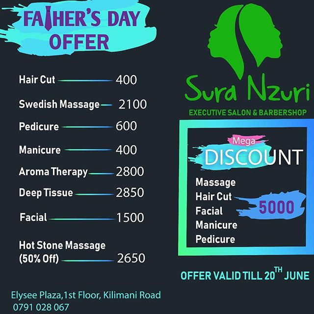 Yaani @suranzuri have decided to offer the very best this fathers weekend!! Run there please.  Treat them!