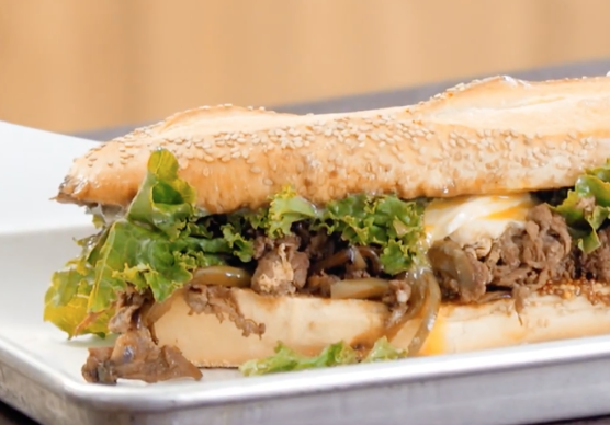 Esquire: How to Make a Steak and Egg Sandwich Perfect for Game Day