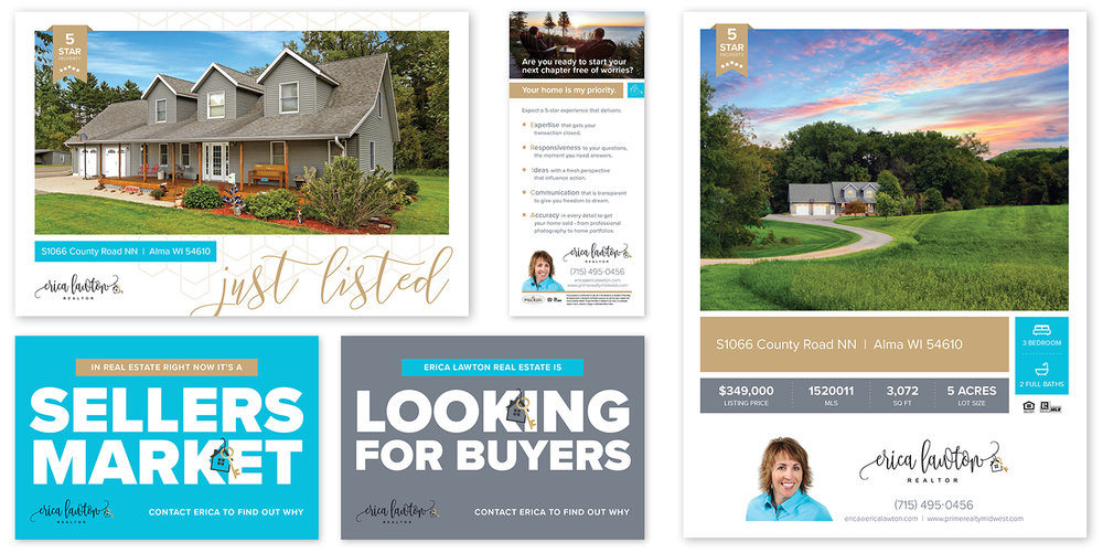 Erica Lawton Realty 2-Week Marketing Refresh