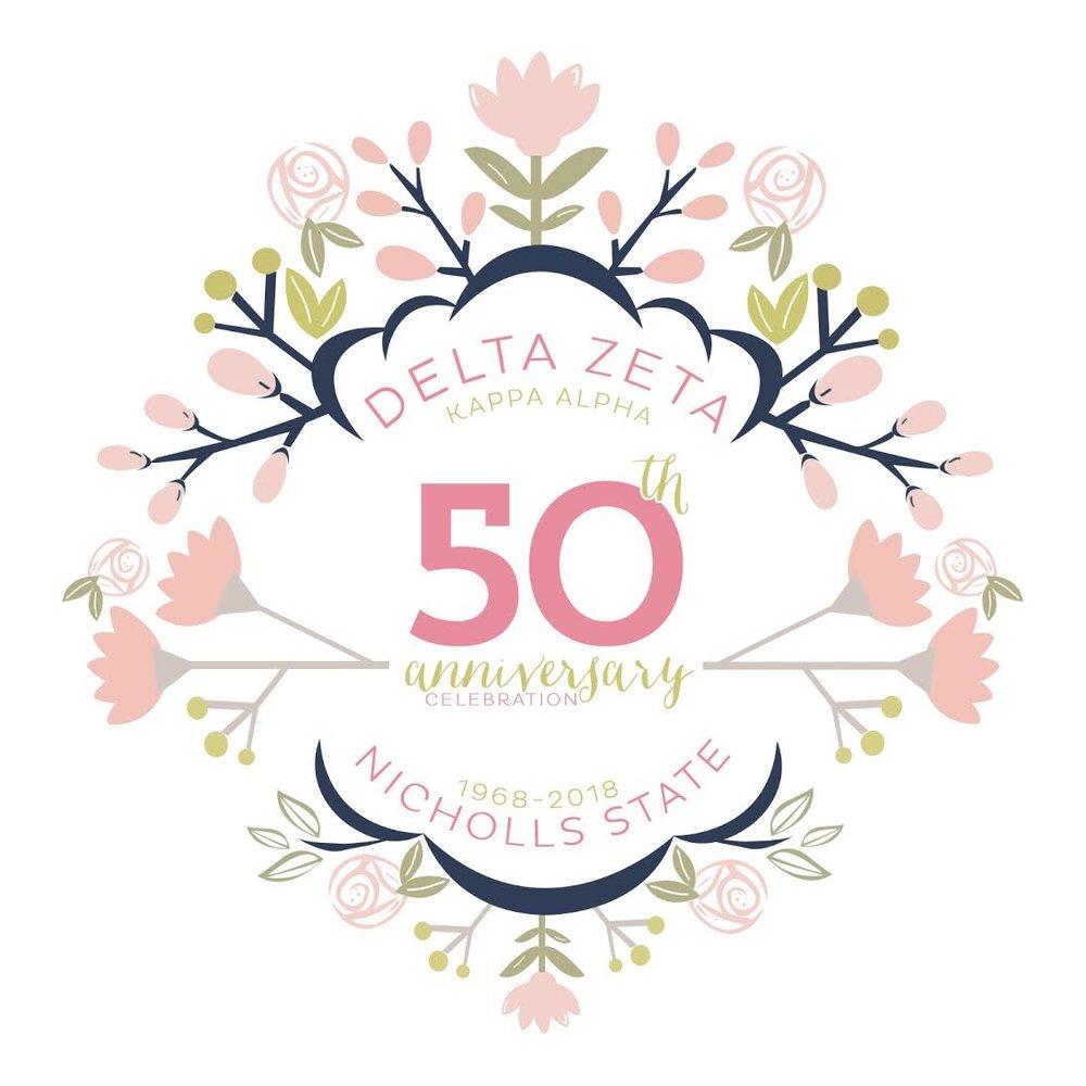 50th Reunion Delta Zeta Nicholls State