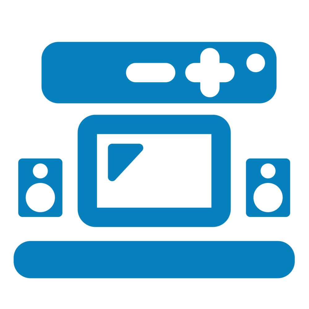 Home Theater & Multi-Room Audio - With our product and installation expertise, we provide boundless options for superior home audio and movie experiences—without fishing wires behind walls! We're also able to support and maintain the system once it's up and running.
