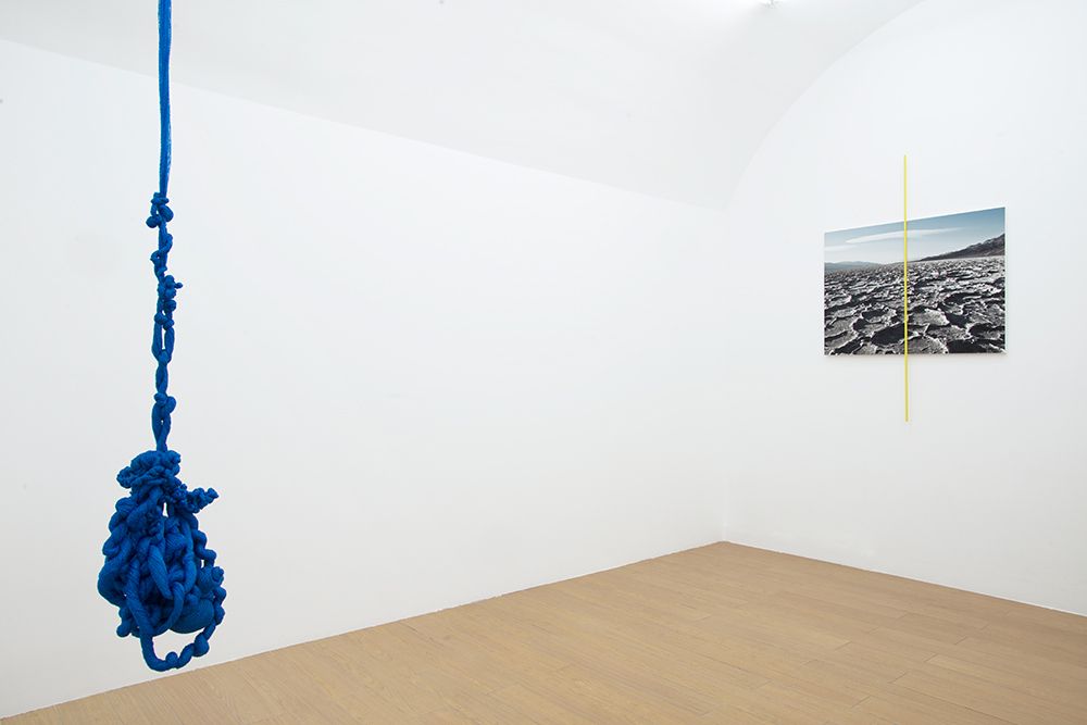 Swipe, Baby Swipe, Group Exhibition At TAL Gallery, Installation View(Gabriela Maciel, Fabian Albertini)
