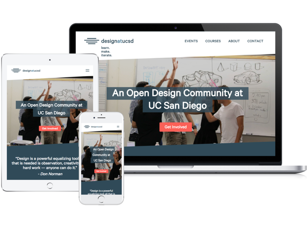 Design at UCSD - Crafting a brand for UC San Diego's largest student design organization.