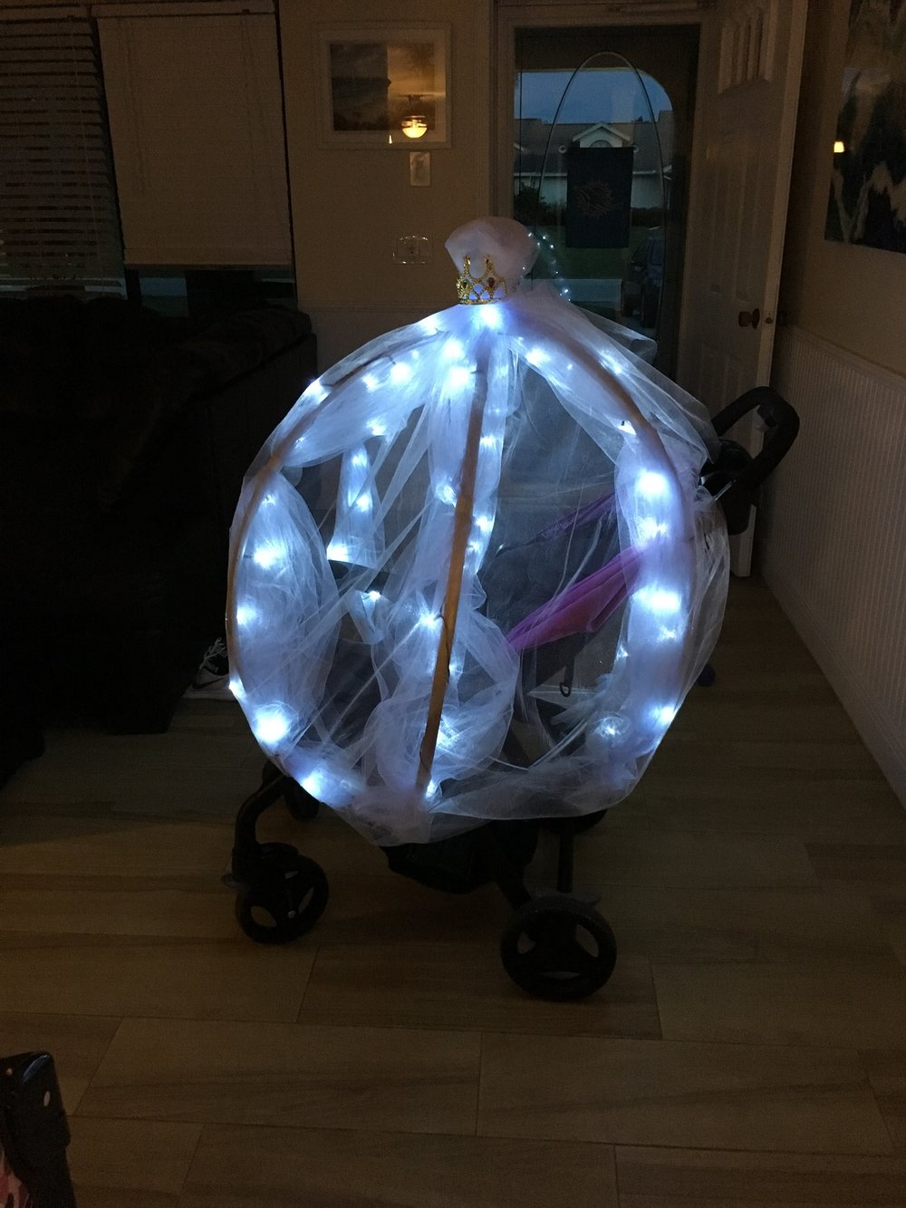 CINDERELLA PRINCESS CARRIAGE STROLLER