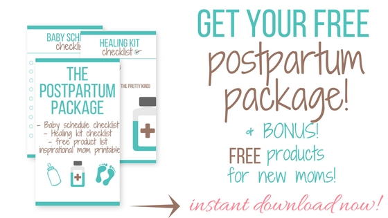 postpartum recovery + healing after birth
