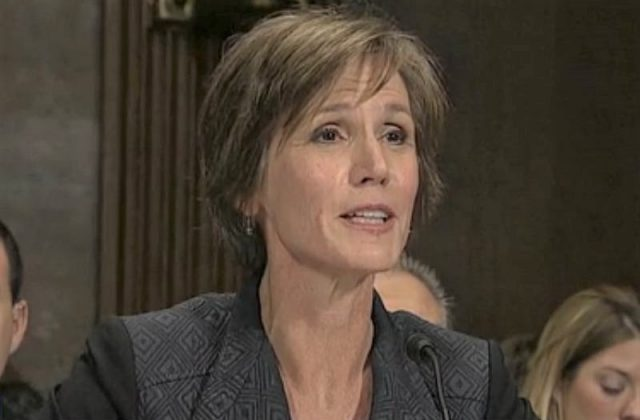 Yates: Watergate Style Surveillance -