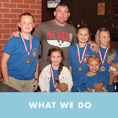 Our programs have been developed to ensure military children receive the support they need. Check out what we offer, and learn how to get involved.