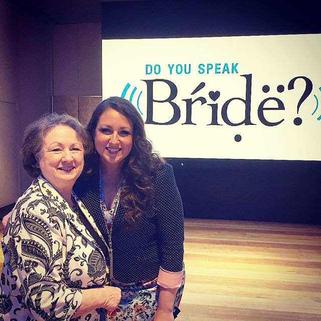 Getting to teach #doyouspeakbride to #bridalboutiques from all over Europe this week in #barcelona as one of the special events that #justinalexanderbridal put on for their stores, was amazing!!! Getting to speak with my parents and sister in the audience was absolutely unforgettable!!! So much fun, and cannot wait for our next stop in the U.K.!!!! #bridalboutique #businesscoach #coachingislife #boutiquesforthewin #messagemissionmotion #barcelonabridalweek