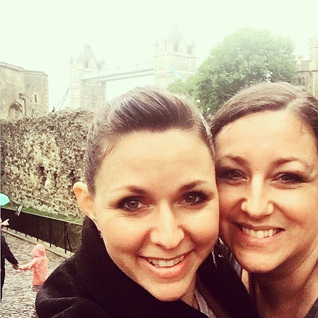 Sisters in front of #towerbridge in #london just a few short weeks ago. My heart is with all of our friends in the U.K., especially in London.  We love you, and our thoughts and prayers are with you.