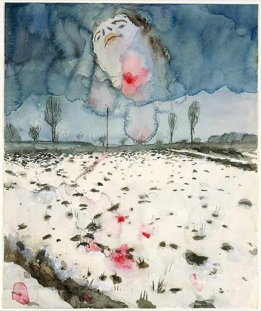 Anslem Kiefer  b. 1945, Germany | Winter Landscape