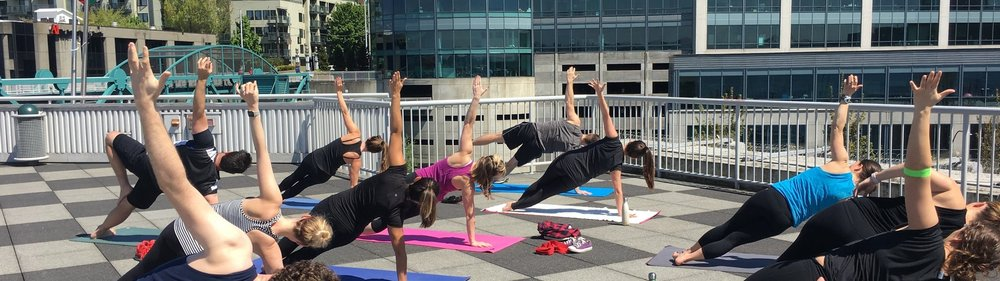 WHAT WE'RE ABOUT AT NW Corporate Yoga℠ -
