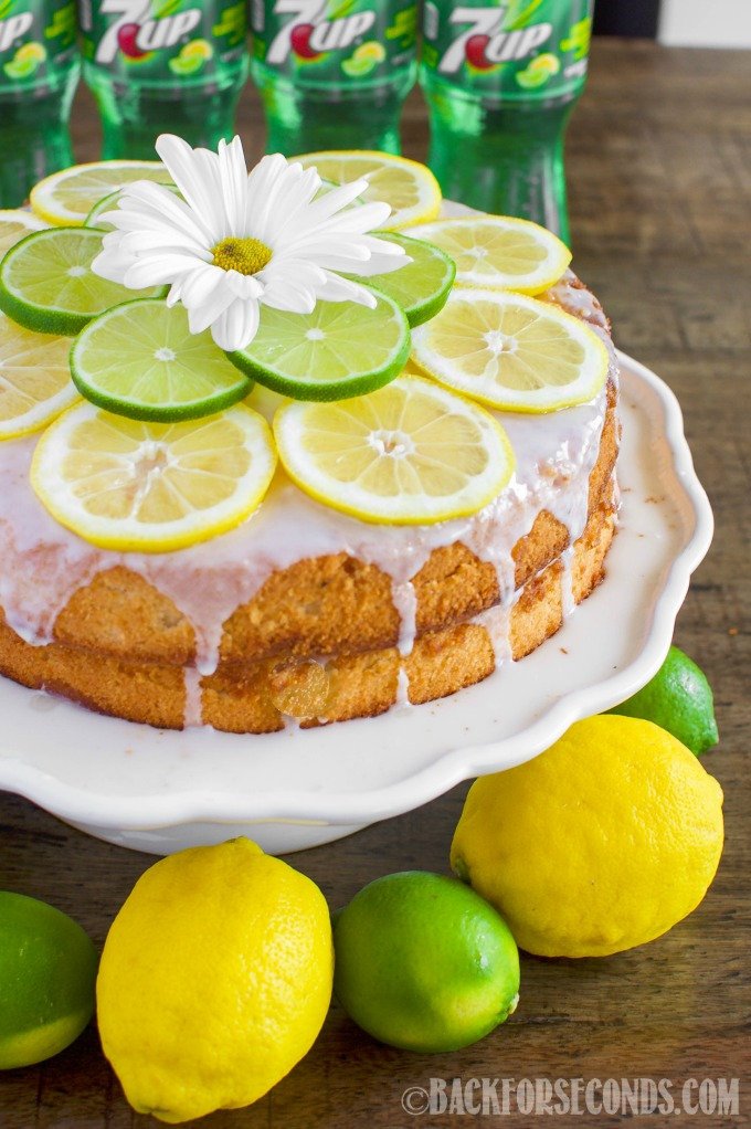 Lemon Lime 7UP Cake