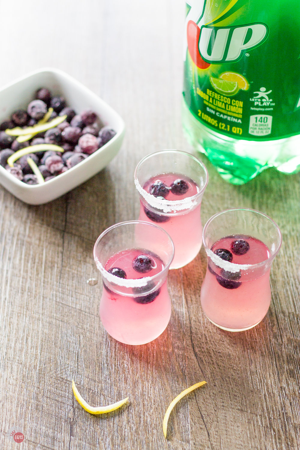 Blueberry Lemonade Shots