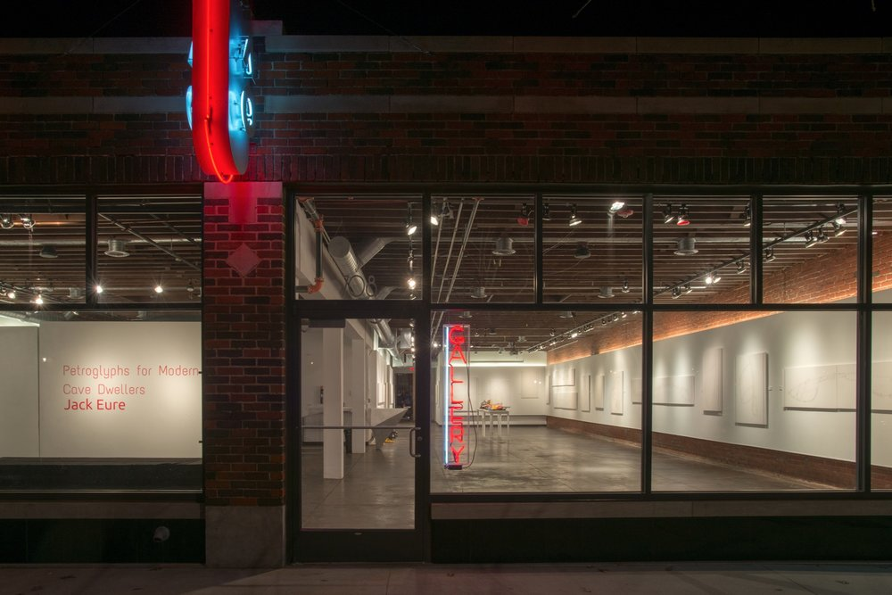 IAO Gallery nighttime exterior