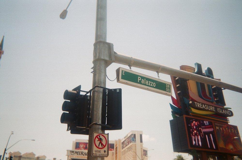 Palazzo Boulevard, Las Vegas.