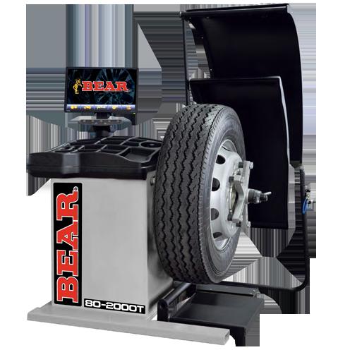 wheel balancers  cartek group bear automotive