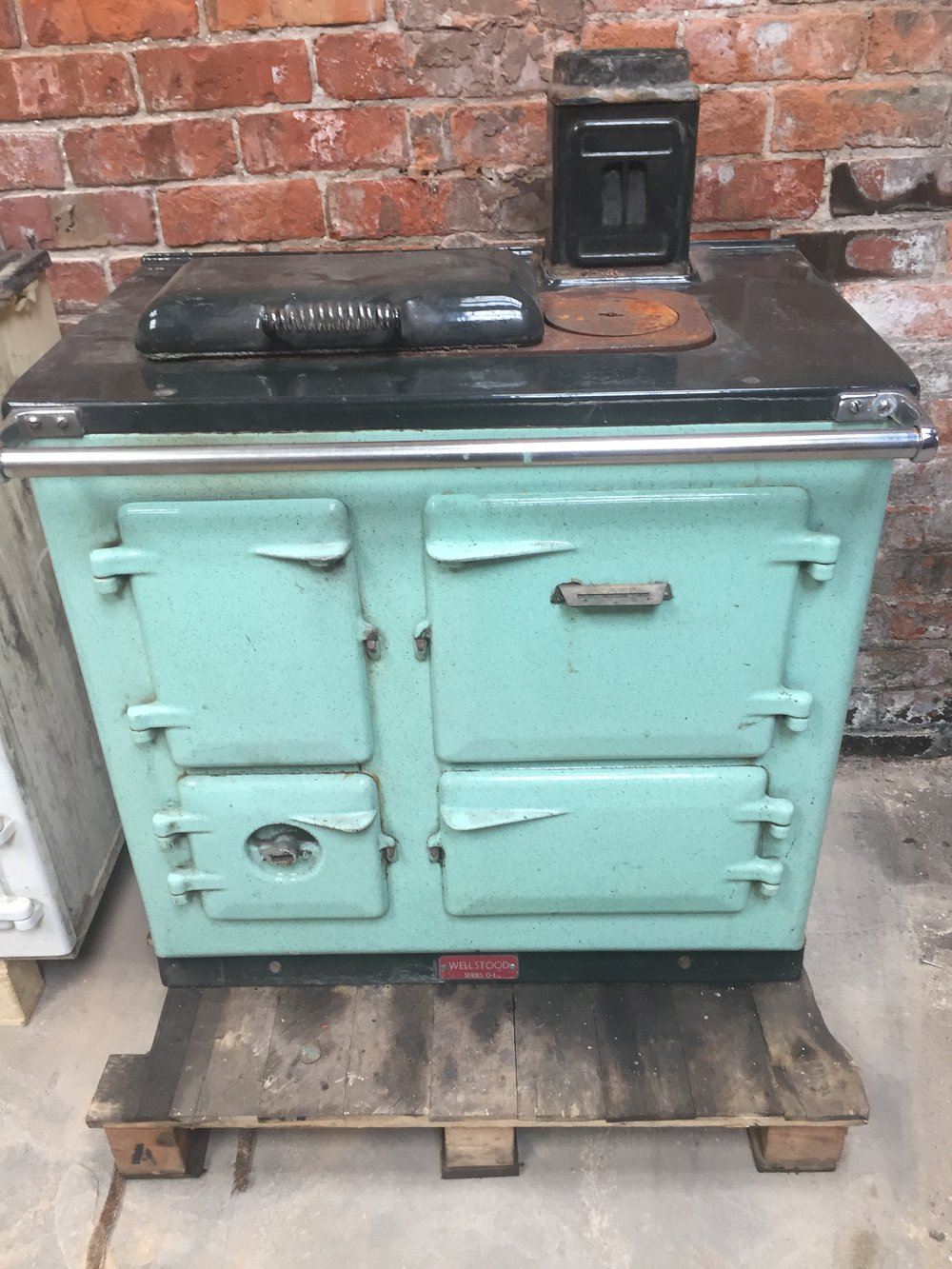 An old Wellstood cooker, not many of these left now.