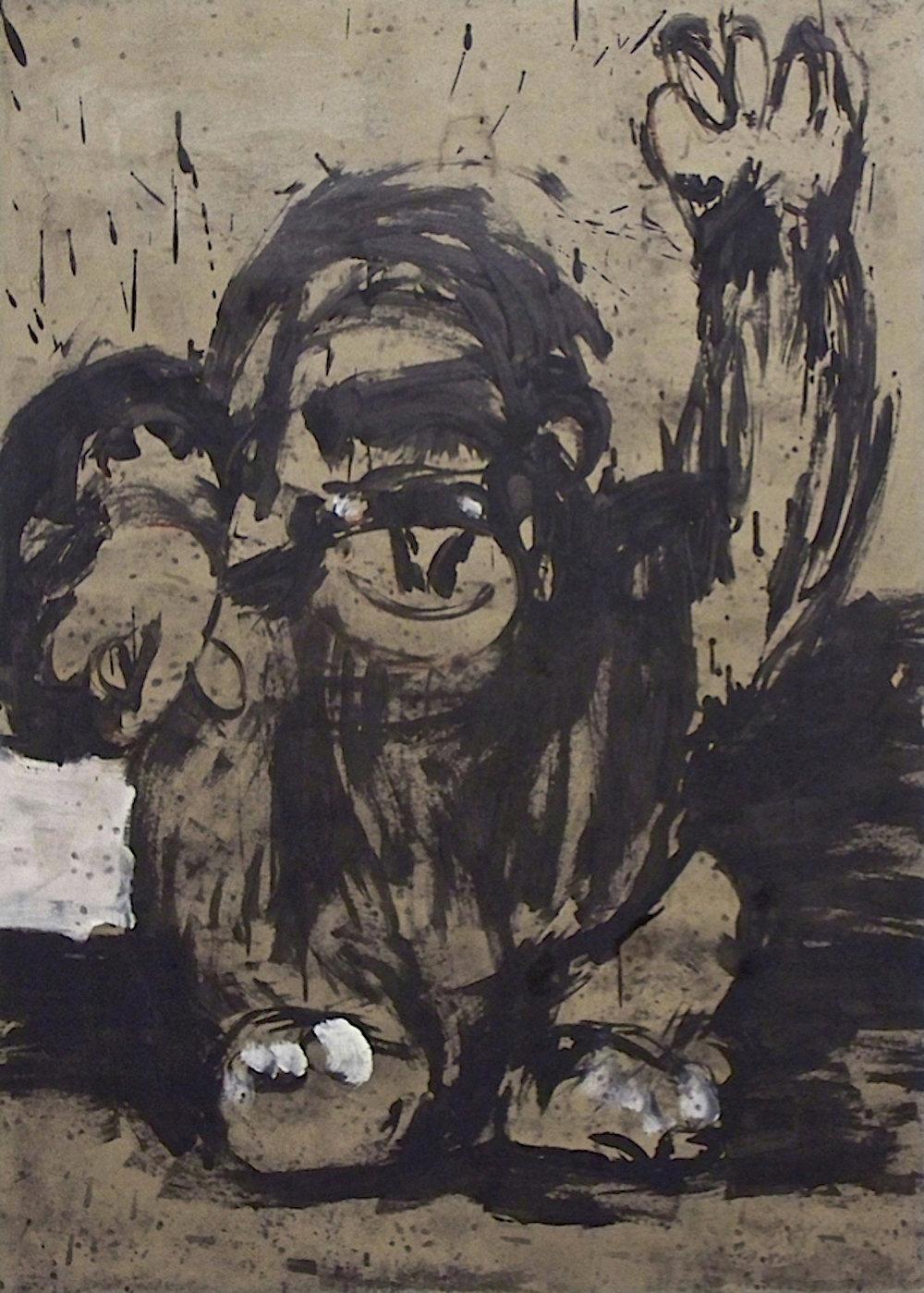 De la série «des gorilles et des hommes» 3