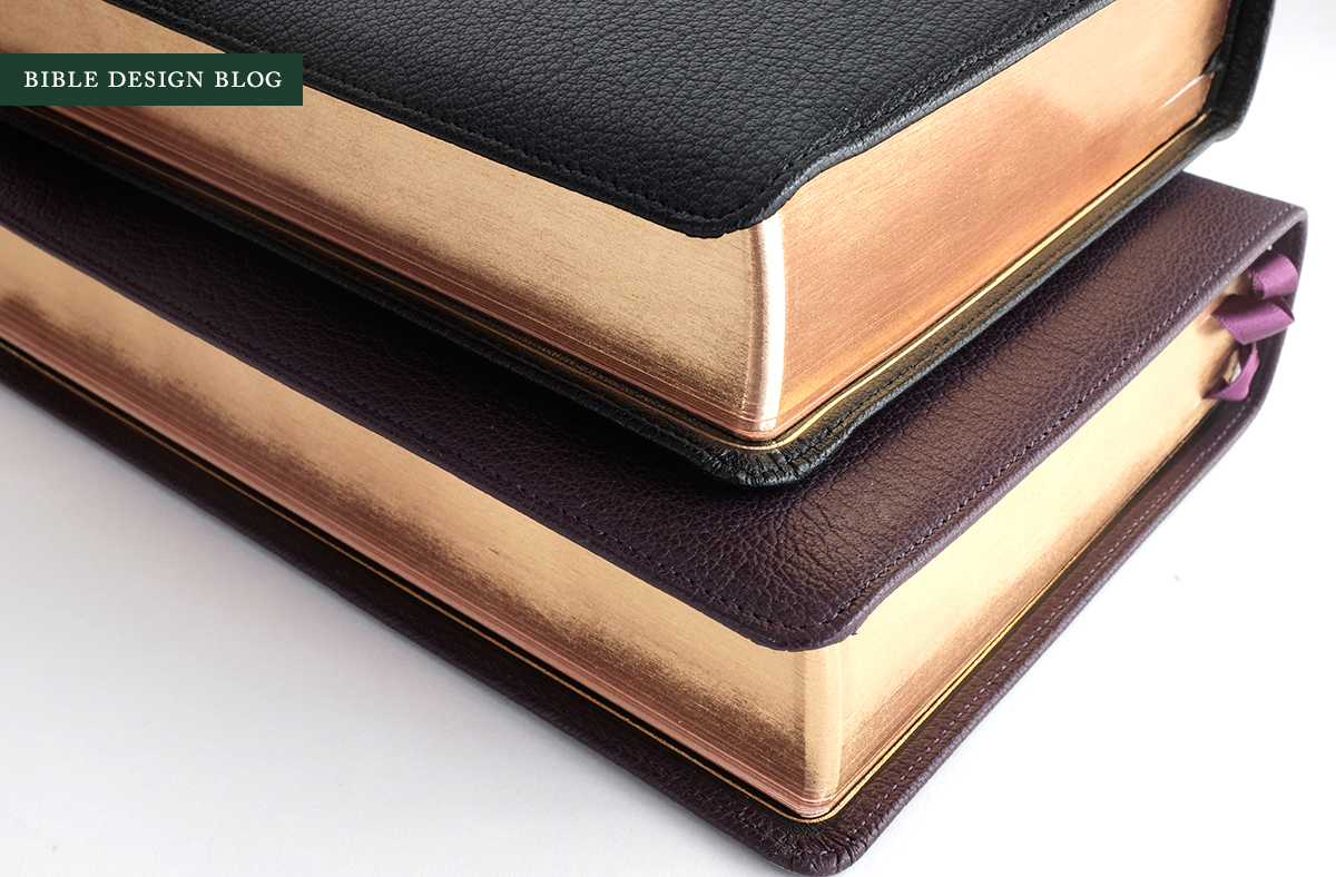 The black goatskin Select (top) compares favorably with its rival.