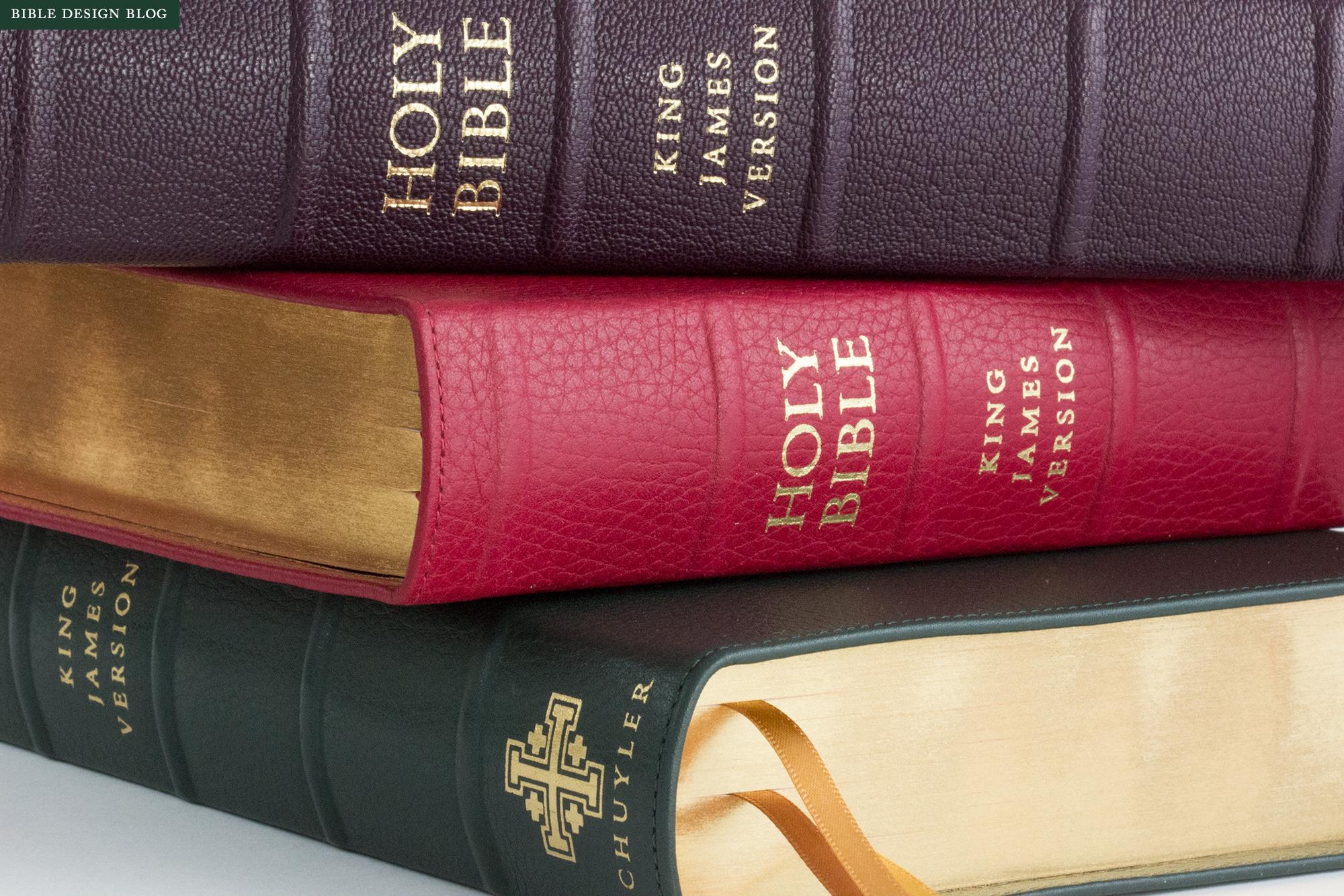 The Schuyler Quentel NKJV — Bible Design Blog
