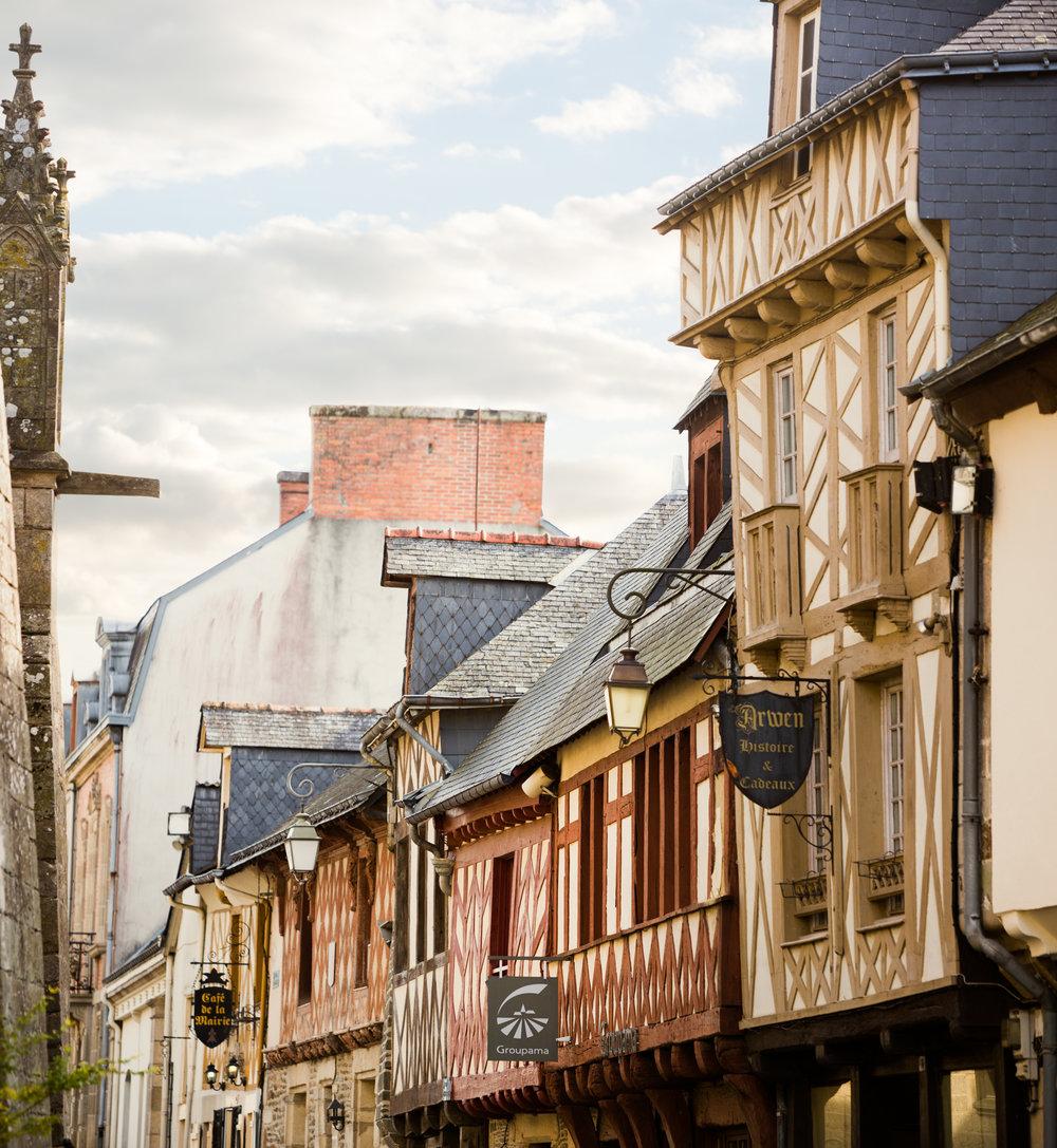 Josselin, France