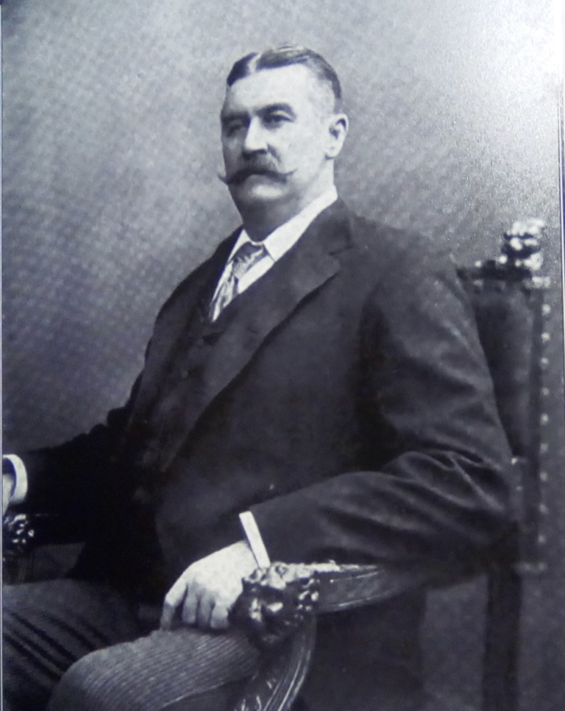 James E. Pepper, Distiller and Horseman of International Fame: 1850 - 1906. Photo Credit: From the James E. Pepper Distillery Archives