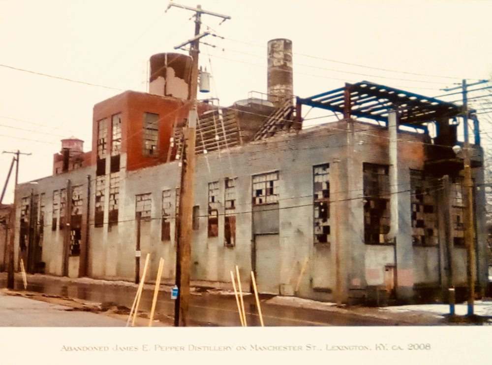 James E. Pepper Distillery Site, Lexington, 2008. Photo Credit: From the James E. Pepper Distillery Archives