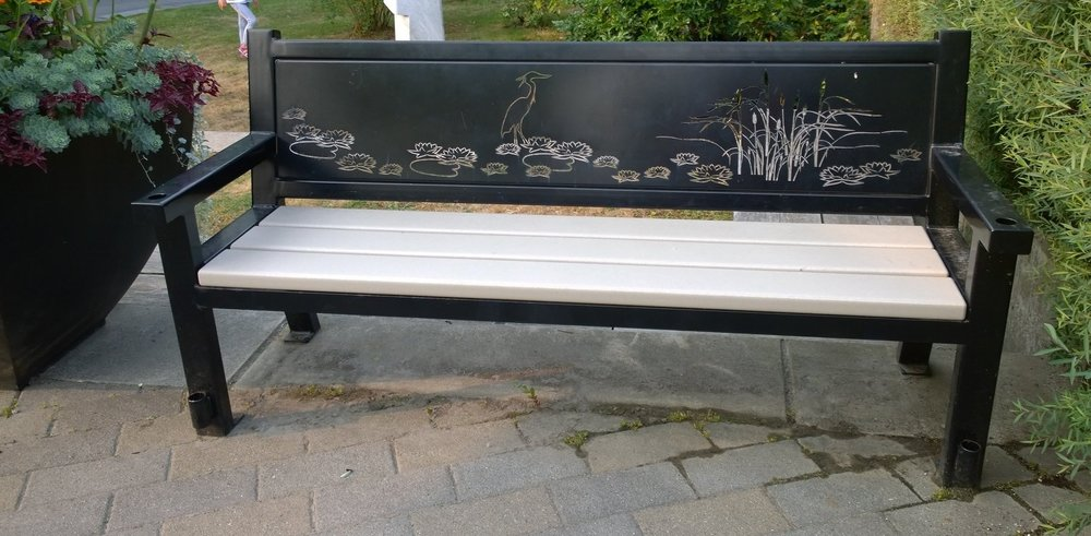 Benches have the potential to be evocative about their surroundings.