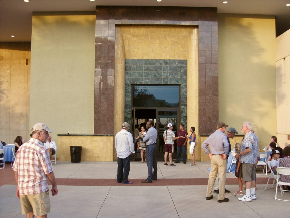 Photo Credit: Mike Mayer, Tucson Museum of Art Entrance, July 2018