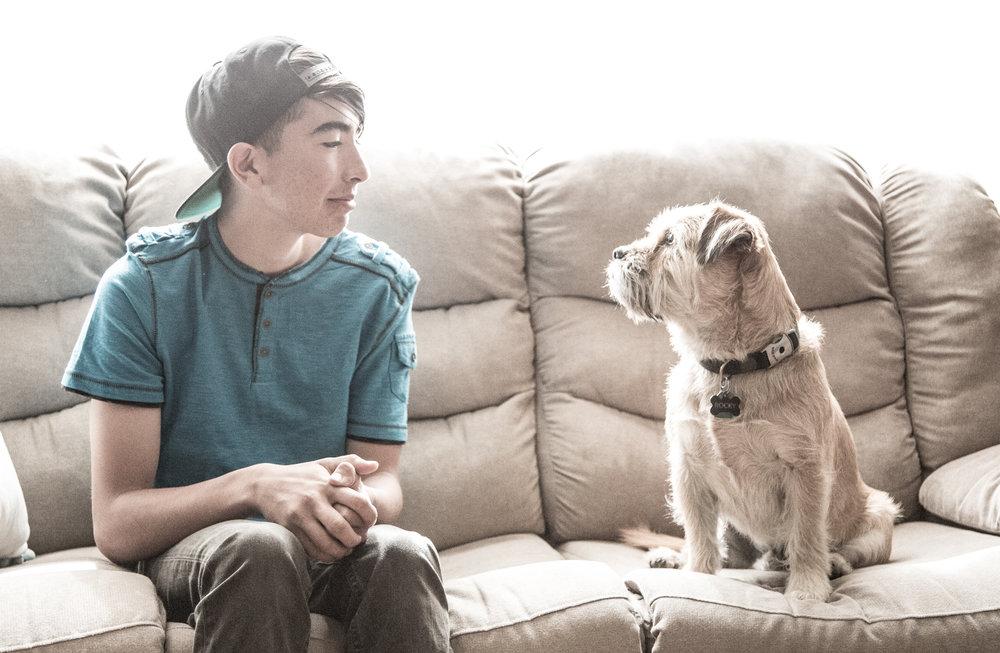 A Boy & His Dog…