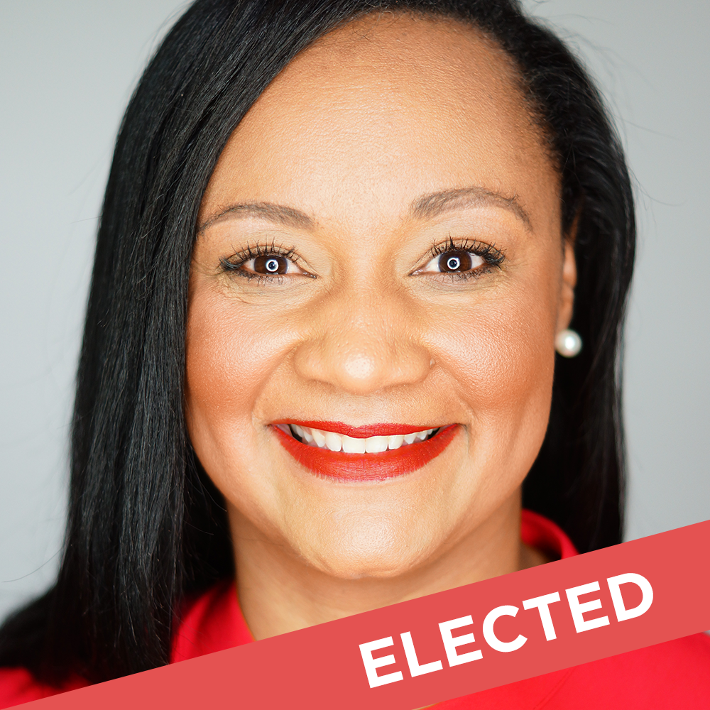 Nikema Williams  Elected for State Senate District 39   W  ebsite  |  Facebook
