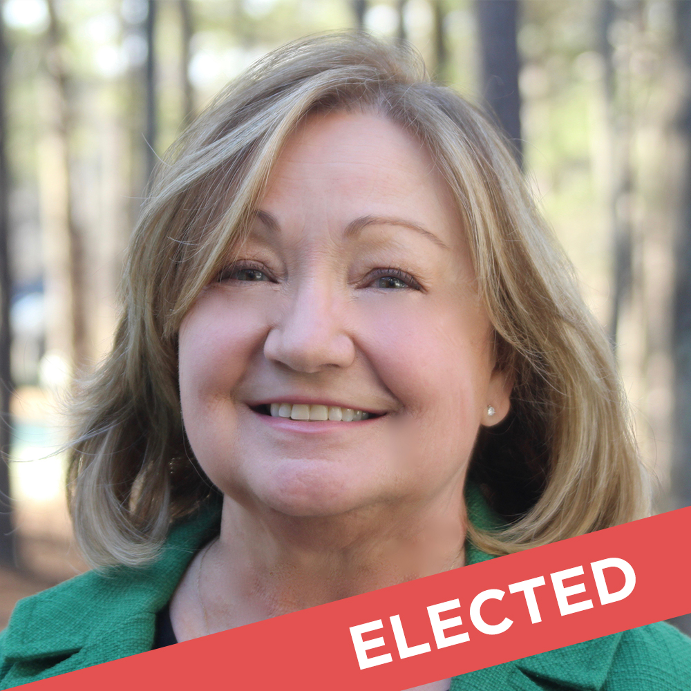 Mary Robichaux  Elected for State House District 48   Website  |  Facebook  |  Donate