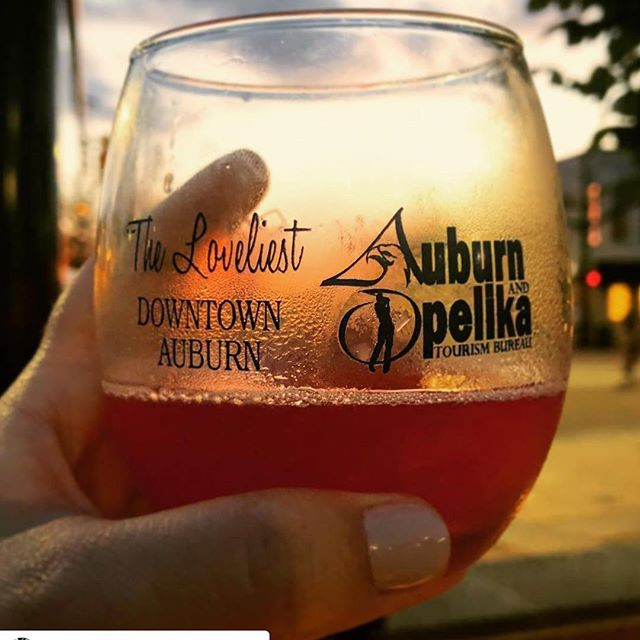 """Thanks to everyone who came out for Cheers on the Corner last night! It was another sell-out event! Special thanks to all the merchants and @cityofauburnal for coming together to offer a """"taste"""" of our lovely village! 🍻🍷 #cheersonthecorner #downtownauburn #comehometothecorner #auburnalabama (📸:@taralightharbison)"""