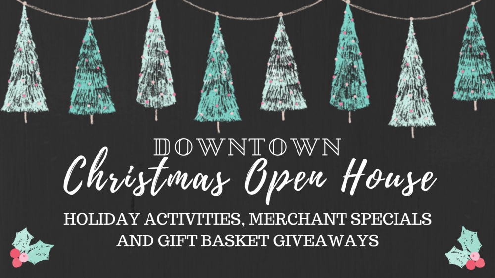 Christmas Open House — Downtown Auburn