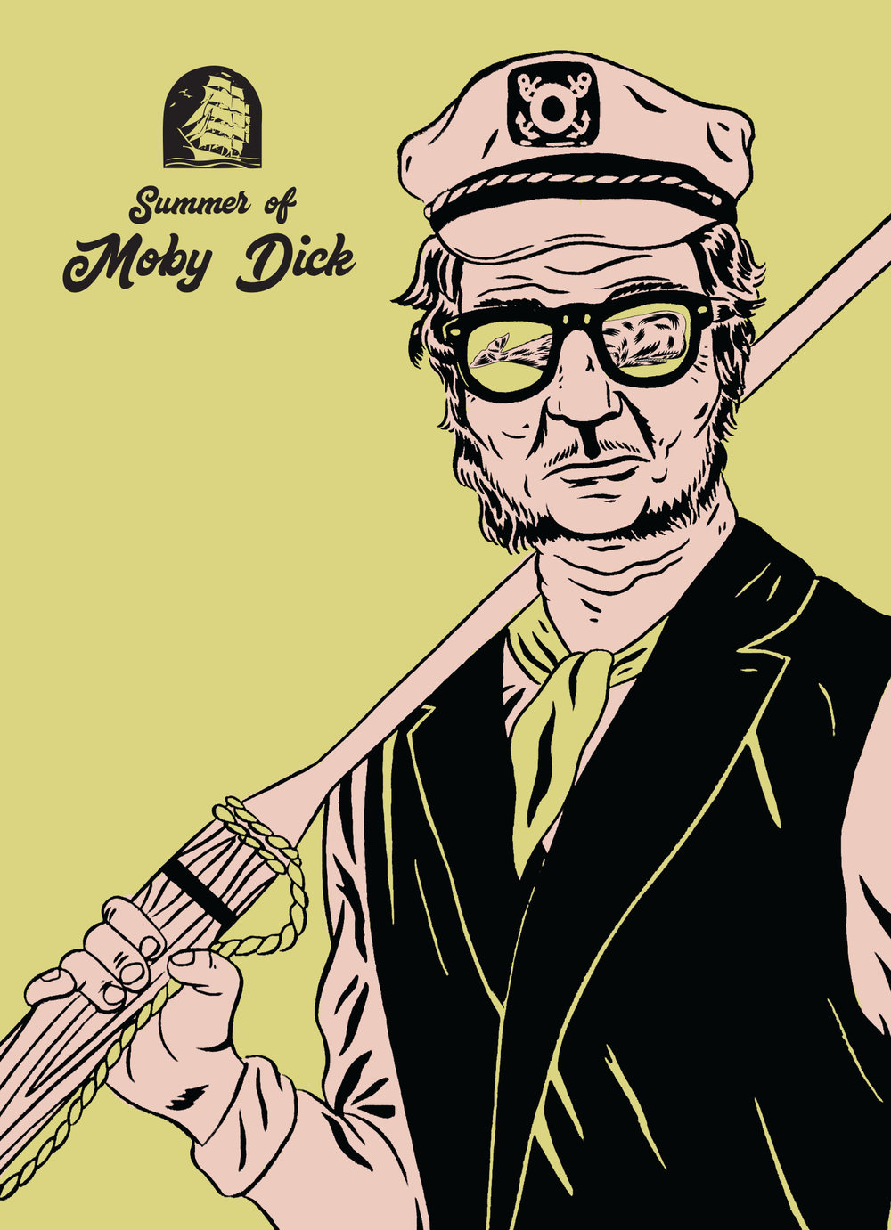 Summer of Moby Dick Postcard