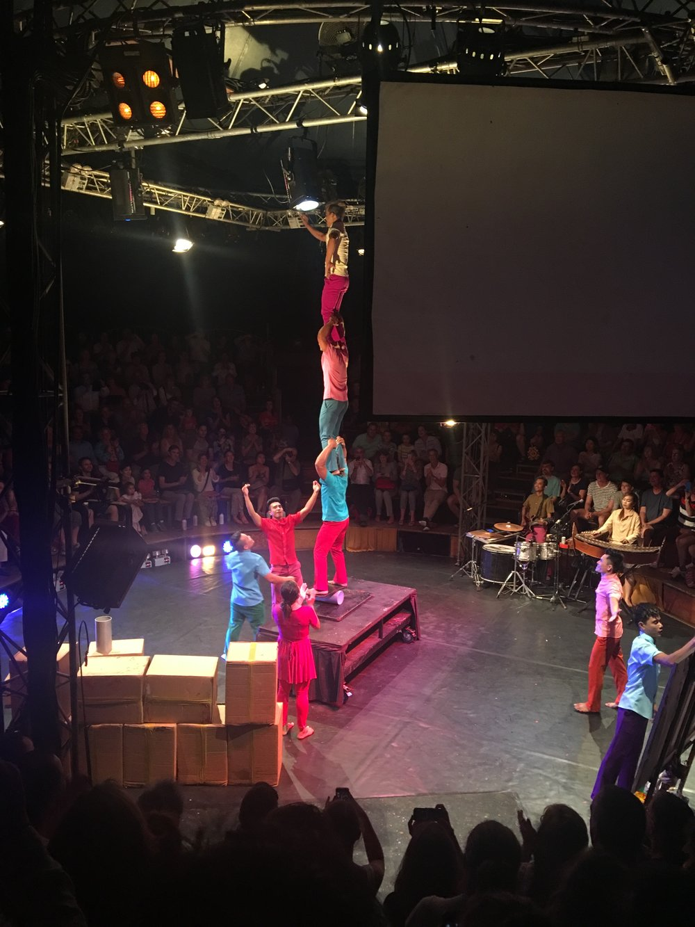 Cambodian Circus!